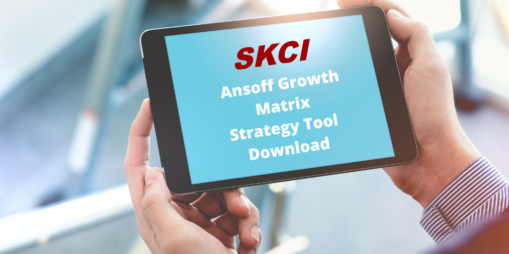 Ansoff Growth Matrix Strategy Tool Downloads