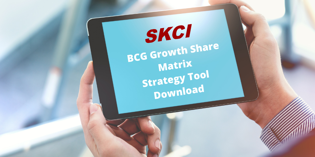 BCG Growth Share Matrix – SKCI Business Strategy Tool