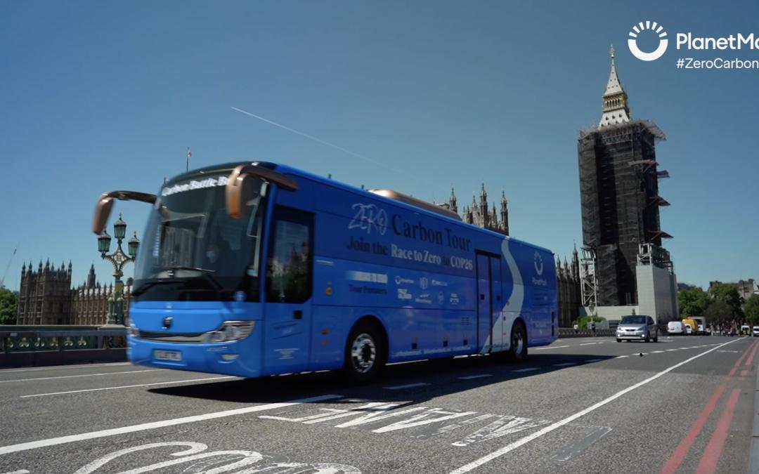 Video: Stephen Kirk's interview for Planet Mark's Zero Carbon 'Battle Bus' Tour